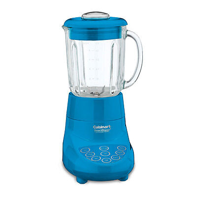 Cuisinart Smart Power 7 Speed Electric Blender, Blue - Factory Refurbished