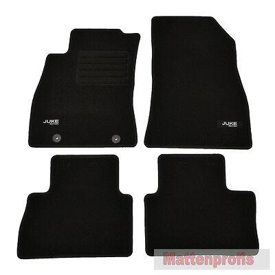 Mattenprofis Velours Fußmatten Edition 4-teilig für Nissan Juke ab Bj.062010 -
