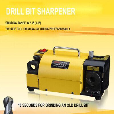 Mr-13a Drill Bit Sharpener Grinder 100-130 Angle Grinding Machine For 2-13 Mm