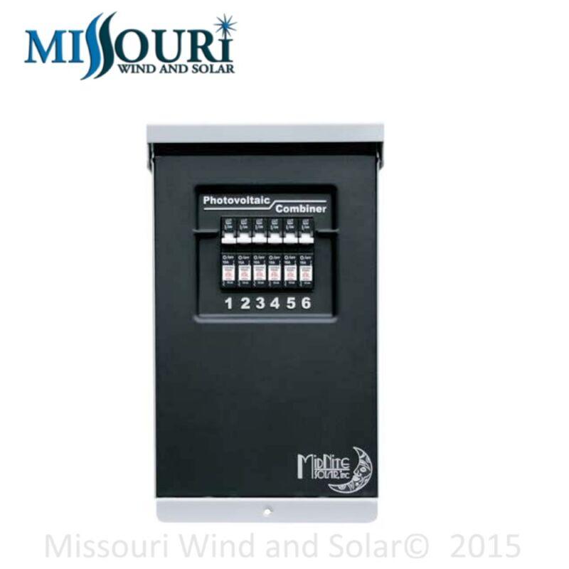 MidNite Solar MNPV6 PV Combiner Box for Wind Turbines or Solar Panels