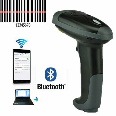 Automatic Bluetooth Wireless Laser Handheld Barcode Scanner Gun Bar Code Reader