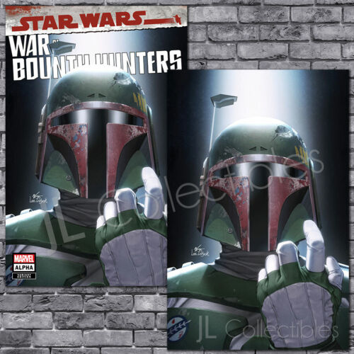 🔥 STAR WARS WAR OF THE BOUNTY HUNTERS ALPHA #1 INHYUK LEE TRADE VIRGIN VARIANT!