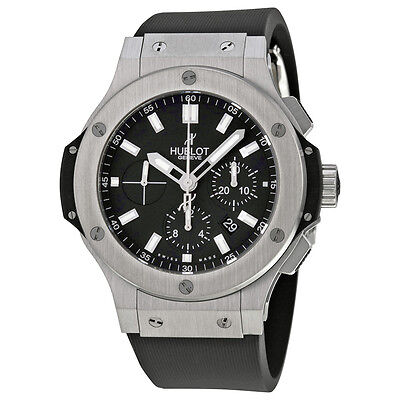 Hublot Big Bang Black Dial Chronograph Mens Watch 301.SX.1170.RX