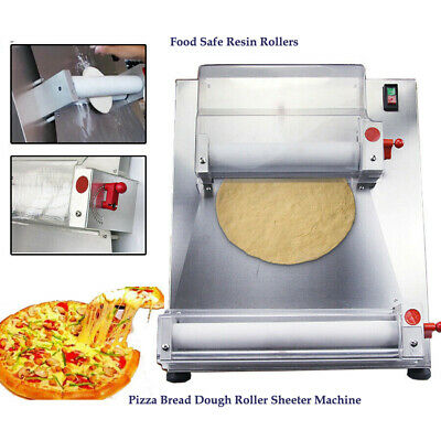 Techtongda Pizza Bread Dough Roller Sheeter Machine With Food Safe Resin Rollers