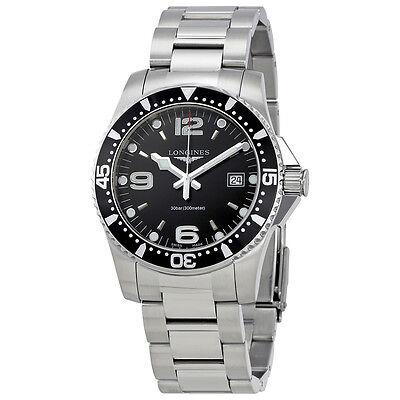 Longines HydroConquest Black Dial Mens Watch L37404566