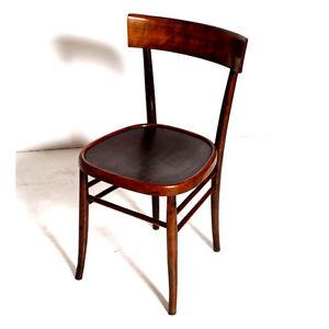 2 sedie vintage chair mid century modern design anni 39 50 for Sedia design anni 40