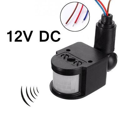 - Detector Adjustable 180 Degree DC12V PIR Motion Sensor Security Human Infrared