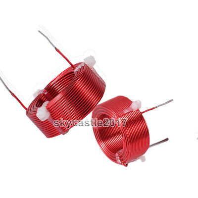 1pcs 0.8mm 0.2mh Speaker Divider Crossover Inductor Oxygen-free Copper Wire Coil