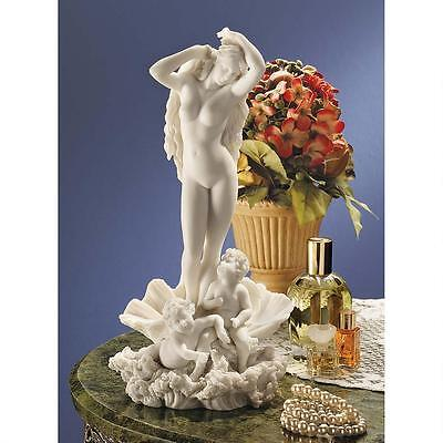 Venus Goddess of Love & Beauty on Shell Roman Mythology Bonded Marble Statue](Roman Goddess Of Love)
