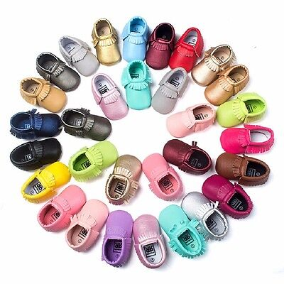 Best Baby Fashion Soft Sole Leather Shoes Toddler Infant Boy Girl Fall