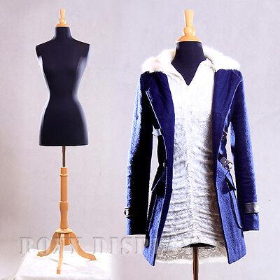 Female Size 2-4 Mannequin Manequin Manikin Dress Form F24bkbs-01nx