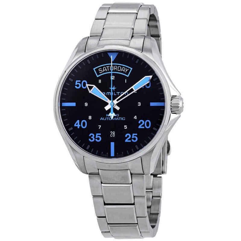 Hamilton-Khaki-Pilot-Air-Zermatt-Automatic-Black-Dial-Men-Watch-H64625131