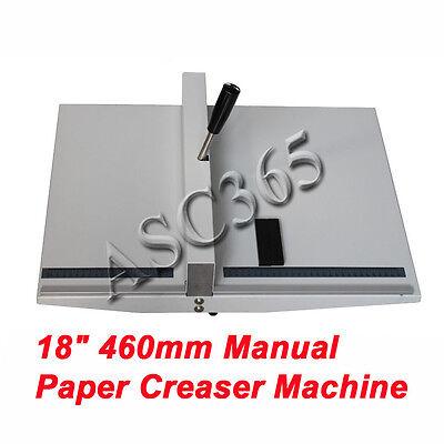 460mm 18 Manual Scoring Paper Creasing Machine Magetic Lock Brand New
