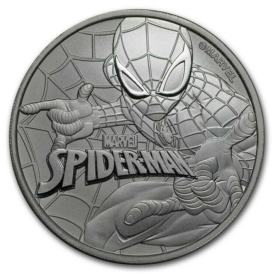 2017 ~ 1~OZ SILVER ~ SPIDERMAN ~ MARVEL ~ HOMECOMING ~ PCGS PR 70 DCAM ~ $118.88