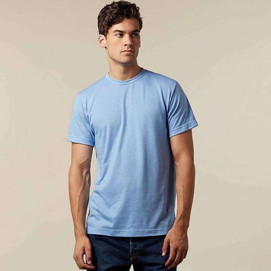 Tultex 241 Unisex Poly Rich Blend T-Shirt 3.6 oz 65% Polyest