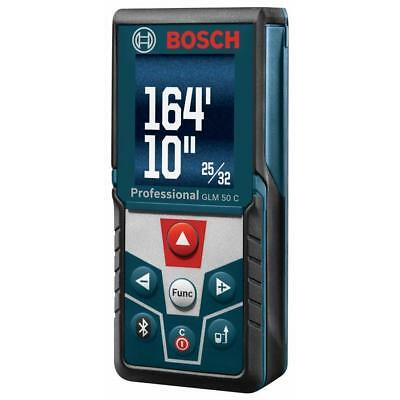 Bosch Glm50 C Bluetooth Enabled Laser Distance Measurer W Color Backlit Display