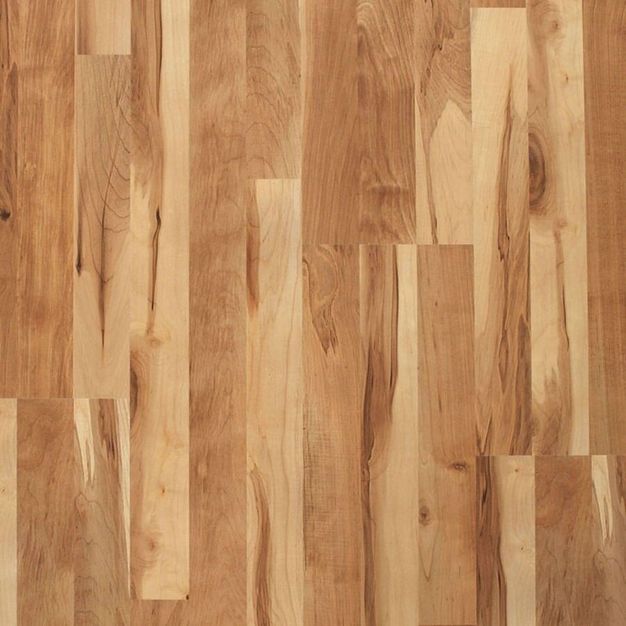 Style Selections Swiftlock 8mm 8 In W X 51 L Pine Laminate