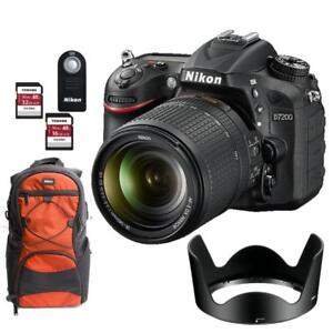 D7200 with 18-140mm f/3.5-5.6G ED VR Kit +BUNDLE SPECIAL (BRAND NEW)