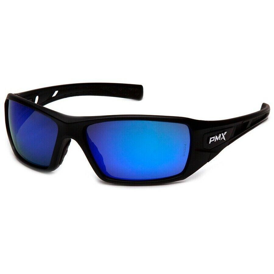 Pyramex Velar Safety Glasses Sunglasses Work Eyewear Choose Lens Color ANSI Z87+ Ice Blue Mirror SB10465D