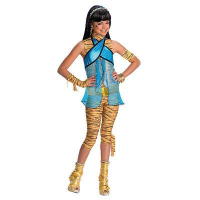 KINDER MONSTER HIGH CLEO DE NILE KOSTÜM # Karneval Mumie Cleopatra Mädchen Party