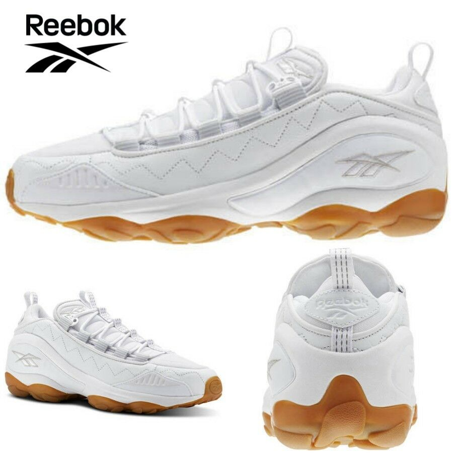 Reebok DMX Run 10 Gum White Skull Grey Men Running Casual Shoes Sneakers CN3568