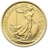 2015 1 oz Gold Great Britain Britannia Brilliant Uncirculated - SKU #89624