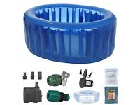 La Bassine birth pool essential kit, tested but unused