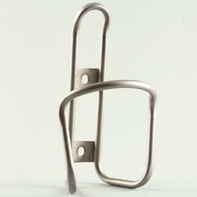 King Cage Titanium Water Bottle Cage Anodized Matte Bronze Made in Durango USA