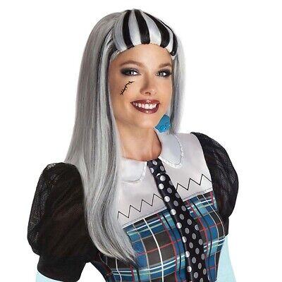 MONSTER HIGH PERÜCKE Halloween Frankie Stein Hexen Vampirin - Frankie Stein Perücke