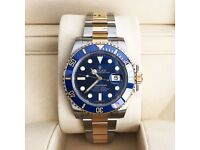 ROLEX SUBMARINER SAPPHIRE GLASS CERAMIC BEZAL POSTAGE AVAILABLE