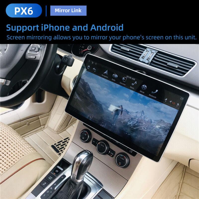 12.8Inch Android 9.0 Car Navigation Radio Player GPS 4+32GB Carplay Android Auto