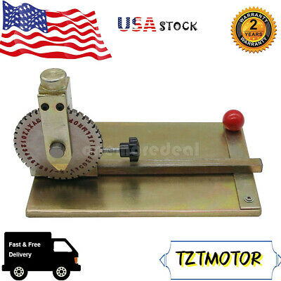 Manual Embossing Machine Metal Plate Stamping Embosser Deboss Diy Machine Usa