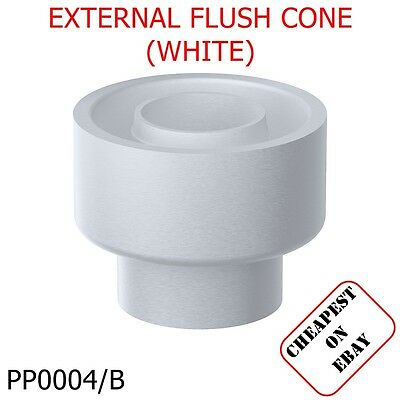 EXTERNAL CISTERN TOILET FLUSH PIPE CONE CONNECTOR HEAVY DUTY RUBBER