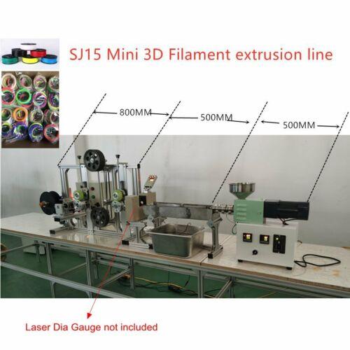 SJ15 Mini 3D Filament Production Line Labarotary Desktop Extruder Machine