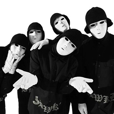 Jabbawockeez America Best Dance Crew Halloween full face Costume Prom Party Mask (Dance Party Halloween)