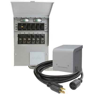 30 Amp 6 Circuit Power Transfer Kit For Generator
