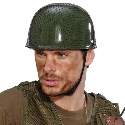 SOLDATEN HELM Karneval Militär Vietnam Army Armee US - Armee Helm Kostüm