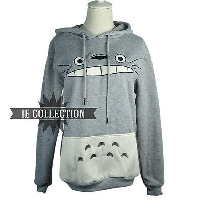 Die Mein Nachbar Totoro Sweatshirt mit Kapuze Cosplay Kostüm Kleid Studio - Ghibli Cosplay Kostüm
