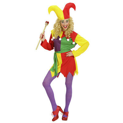 DAMEN CLOWNKOSTÜM # Karneval Fasching Clown Harlekin Zirkus Kostüm Party Kleid