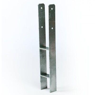 H-Anker 91 mm Pfostenträger Pfostenschuh für Pfosten 9x9 cm Spielturm Carport