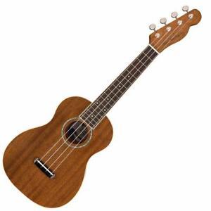 Zuma Concert Uke, Natural Fender Ukulele 0965063021    *neuf
