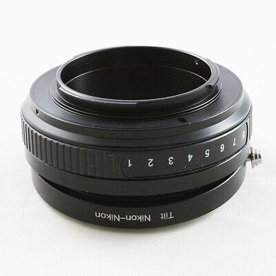 Makro Nikon F AI-S Objektivadapter für Nikon F mount Tilt Kipplinse adapter D810