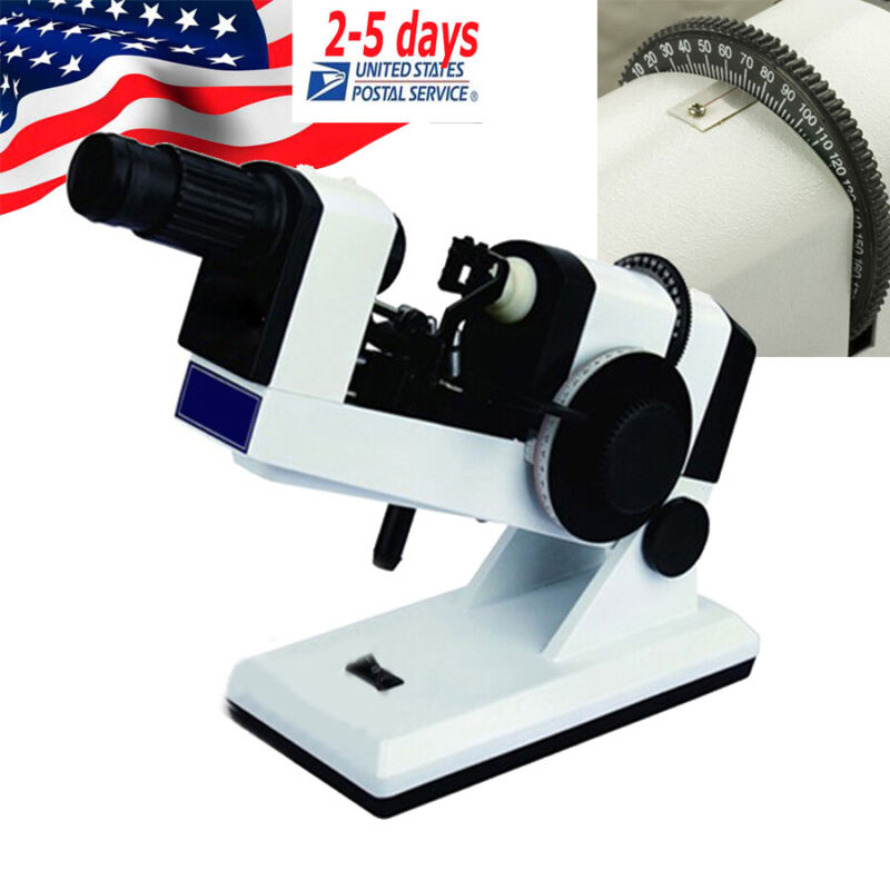 Manual Optical Lensmeter Optical Equipment Lensometer Focimeter for the prism