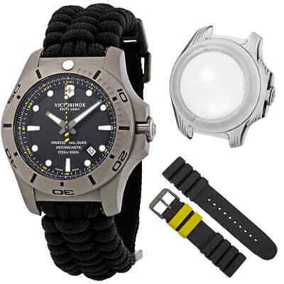 Victorinox I.N.O.X. Professional Diver Titanium Black Dial Men's Watch 241812