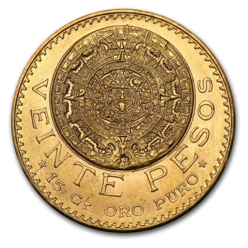 Mexico Gold 20 Pesos AGW .4823 (Random Year) - SKU #155383