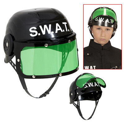 KINDER S.W.A.T. HELM Karneval Polizei SEK SWAT Jungen Polizist Kostüm Fest 28225 ()
