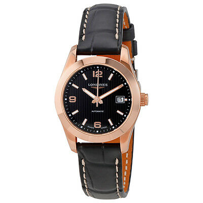 Longines Conquest Classic Automatic Ladies Leather Watch L22858563