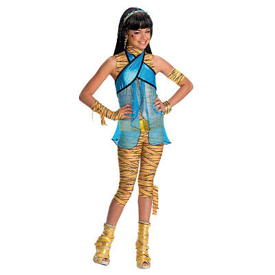 MONSTER HIGH CLEO DE NILE KOSTÜM KINDER # Karneval Kleid Cleopatra Mädchen Party