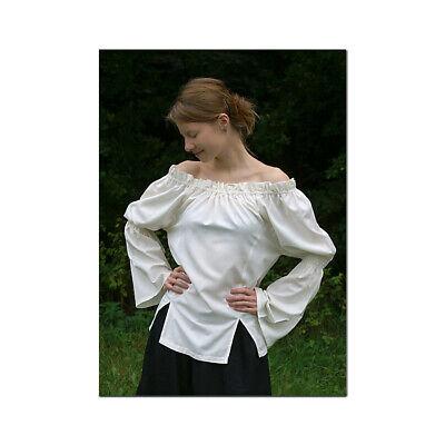Lange mittelalterliche Bluse, Wikinger Mittelalter Mittelalterkleidung
