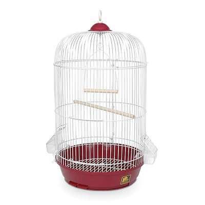Prevue Hendryx Classic Round Bird Cage Red - SP31999R